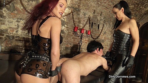 Anal stretching in the dungeon part 1