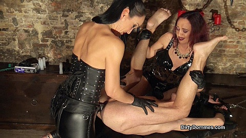 Anal stretching in the dungeon part 2