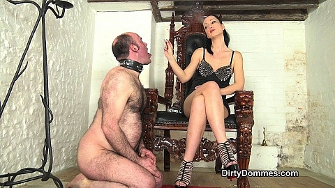 Be My obedient ashtray part 1