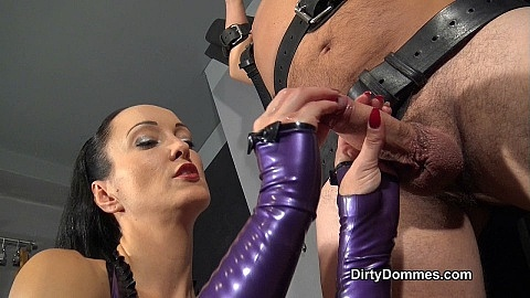Bound ruined orgasm part 1