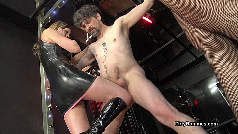 Vicious Ballbusting Castration Part 1