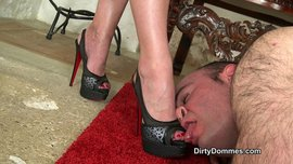Our Louboutin licker part 1